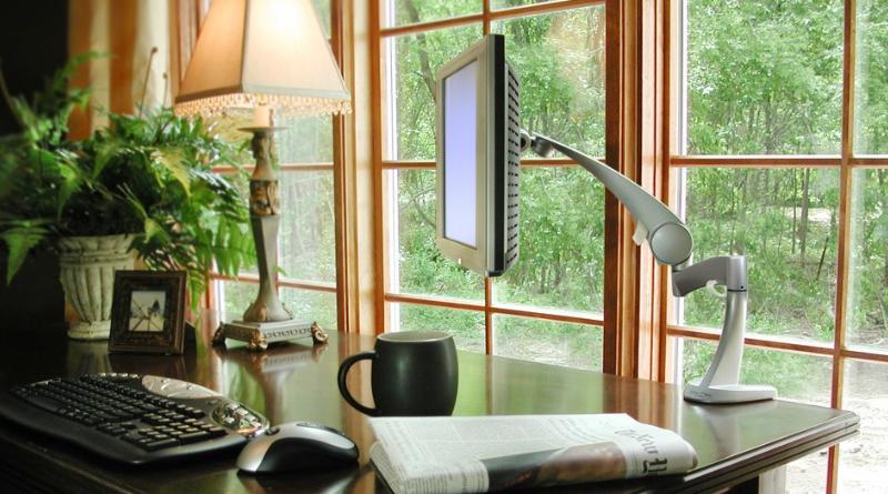 Trevligt hemmakontor i fem steg