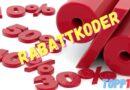 Hämta Din Rabattkod för Rabatt – Aktuella Rabattkoder för 2021