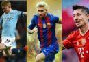 Vem är rankad till bästa fotbollsspelarna  2021