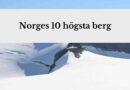 Utforska och res till Norges högsta berg i naturens skönhet