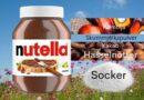 Super mycket socker i Nutella pålägg till barn